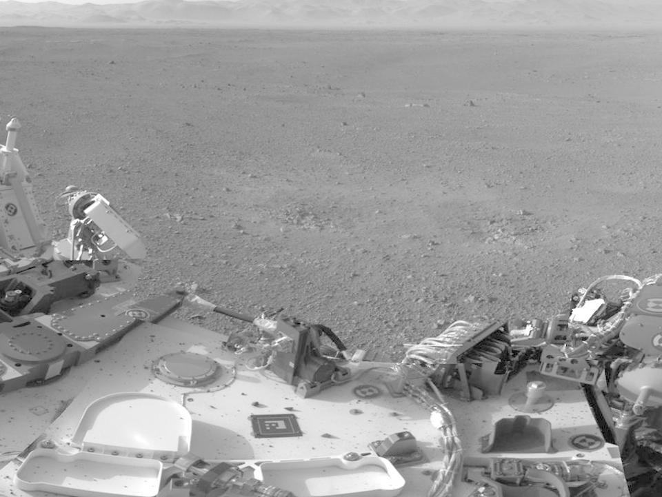 10 фотографий с марсохода Curiosity и поверхности Красной планеты. Изображение № 7.