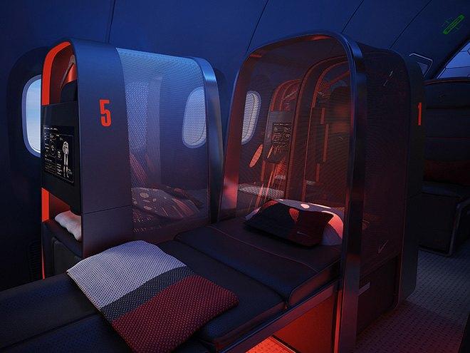 Nike представила супертехнологичный самолёт для своих спортсменов. Изображение № 7.