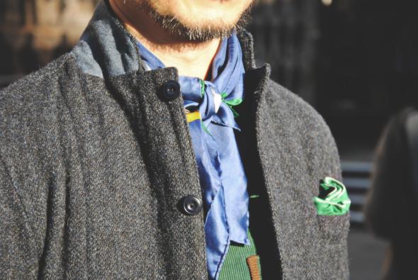Детали: Репортаж с выставки мужской одежды Pitti Uomo. День второй. Изображение № 18.