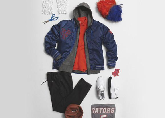 Марка Nike Sportswear выпустила весеннюю коллекцию баскетбольной одежды. Изображение № 10.