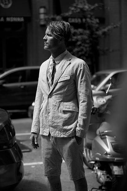 Марка Engineered Garments представила новую коллекцию на весну будущего года. Изображение № 6.