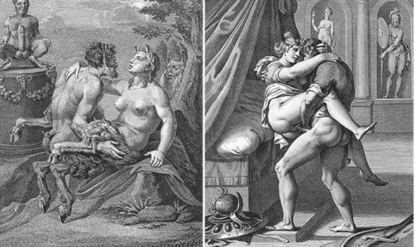 Порно графика древней греции