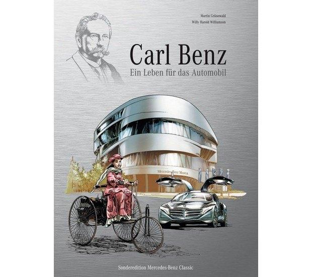Вышли комиксы об изобретателе автомобиля Карле Бенце. Изображение № 1.