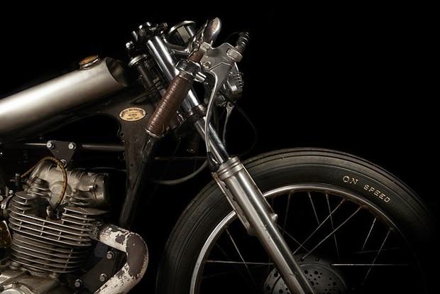 Испанская мастерская El Solitario изготовила мотоцикл Winning Loser. Изображение № 18.