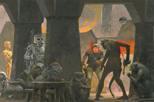 В сети появился оригинальный концепт-арт «Звёздных войн». Изображение № 5.