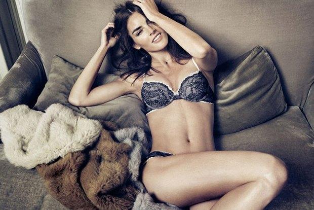 Американская модель Хилари Рода снялась в рекламе нижнего белья. Изображение № 7.