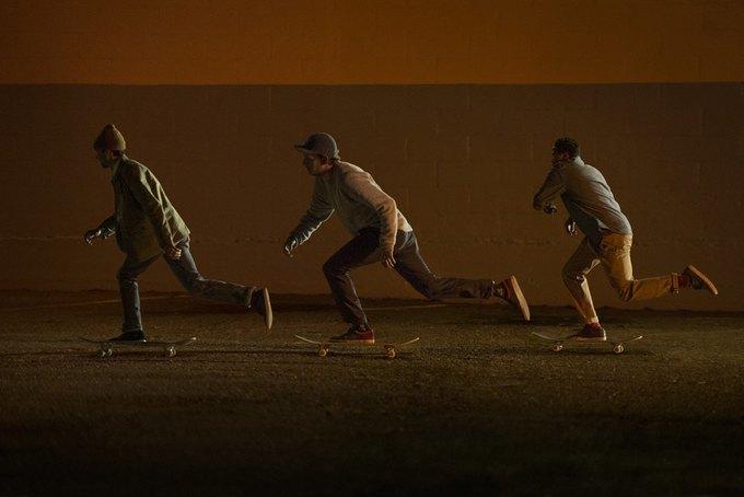 Марка Levi's опубликовала лукбук новой коллекции для скейтеров. Изображение № 3.