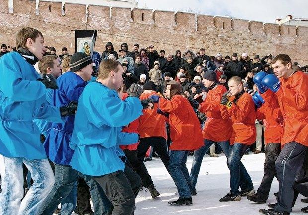 Русские кулачные бои: Главное мужское развлечение Масленицы. Изображение № 5.