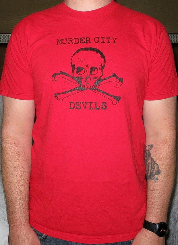 Minor Thread: Тысячедневный марафон футболок с логотипами музыкантов. Изображение № 24.