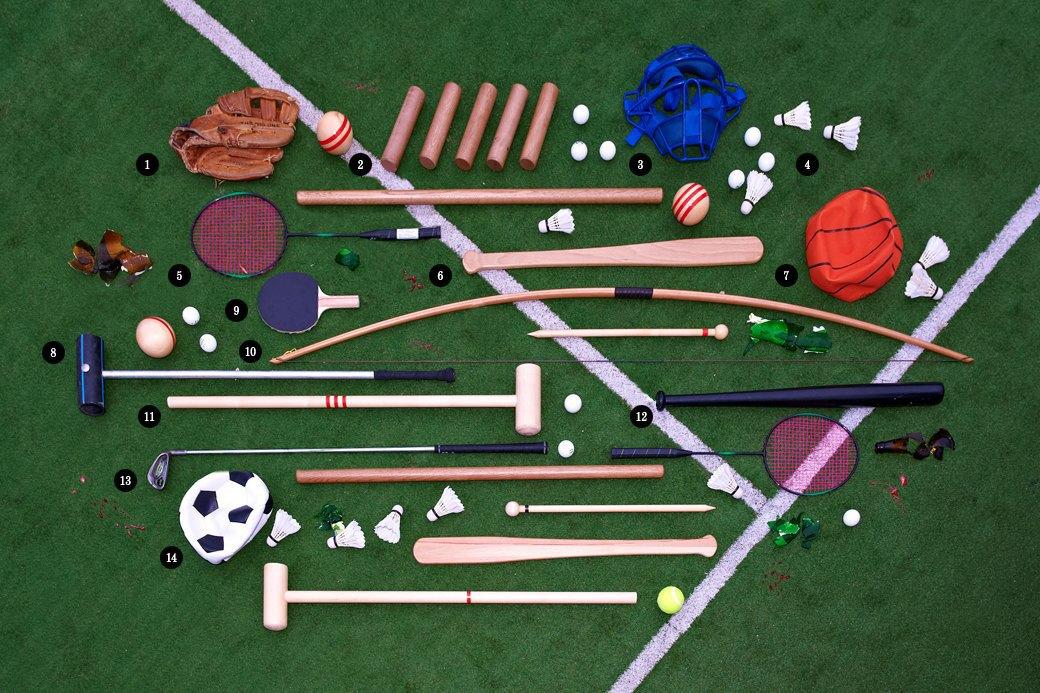 Ревизия спортивного инвентаря для игр на открытом воздухе. Изображение № 1.