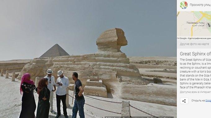 Сервис Google Street View «заглянул» в пирамиды Хеопса и Тутанхамона. Изображение № 1.