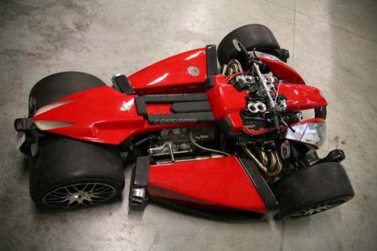 Квадроцикл с мотором Ferrari компании Ludovic Lazareth. Изображение № 9.