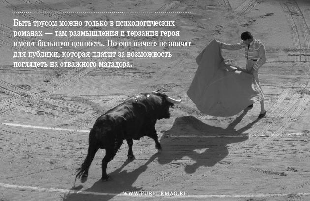 «Бык может отнять у тореро жизнь, но не славу»: Кодекс чести матадоров. Изображение № 4.