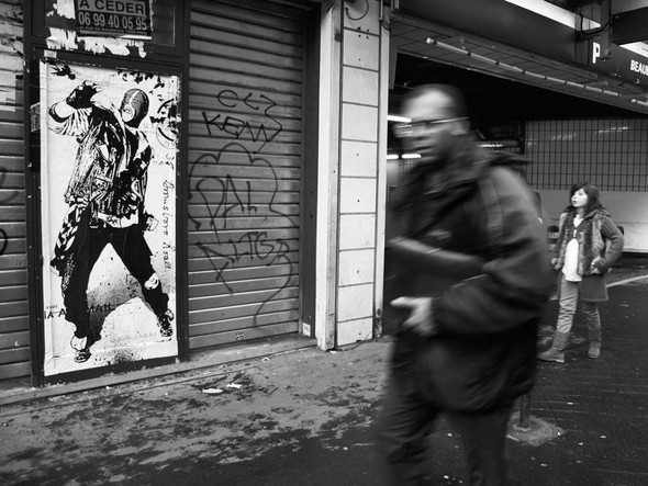 Новая работа уличного художника WK Interact. Изображение № 9.