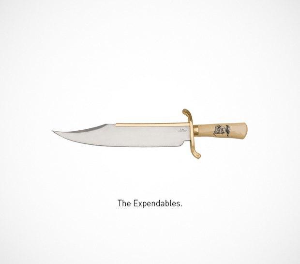 Итальянский дизайнер представил коллекцию ножей знаменитых персонажей. Изображение № 38.