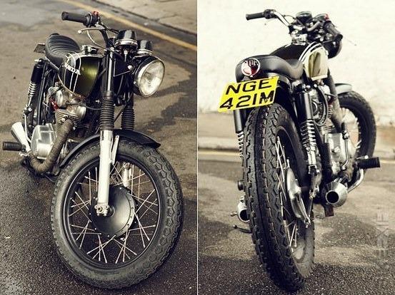 Английская мастерская Untitled Motorcycles представила каферейсер Honda CB350. Изображение № 4.