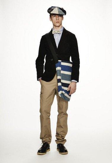 Марка Woolrich Woolen Mills опубликовала лукбук осенней коллекции одежды. Изображение № 2.