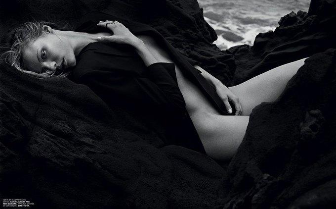 Марк Сегал сфотографировал польскую модель Магдалену Фраковяк для нового номера журнала Lui. Изображение № 8.