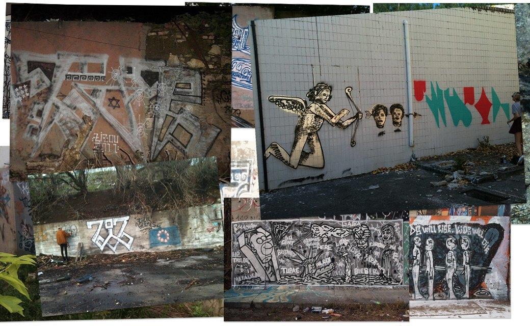 Банда аутсайдеров: Как уличные художники возвращают искусству граффити дух протеста. Изображение № 11.