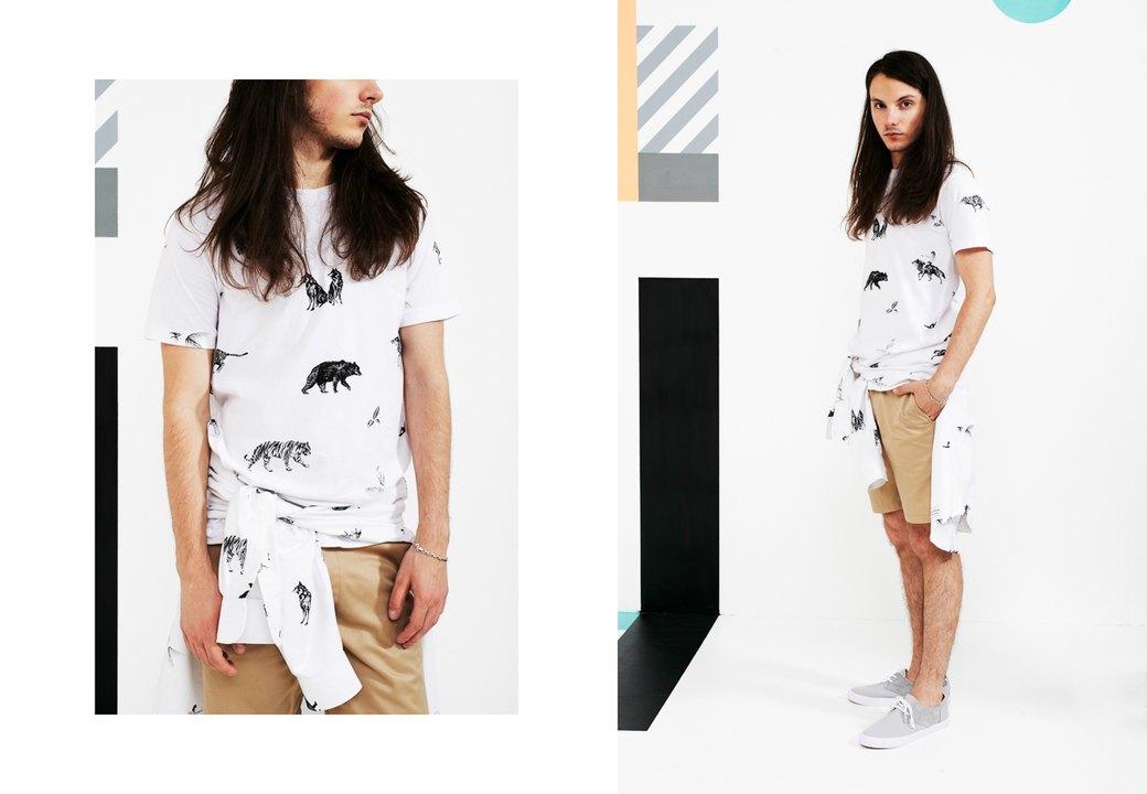 Магазин Kixbox выпустил лукбук весенней коллекции одежды. Изображение № 5.