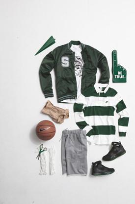 Марка Nike Sportswear выпустила весеннюю коллекцию баскетбольной одежды. Изображение № 21.