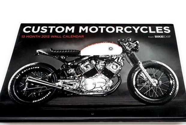 Сайт Bike EXIF выпустил календарь с кастомизированными мотоциклами. Изображение № 1.