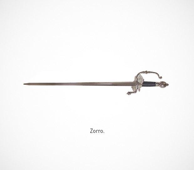 Итальянский дизайнер представил коллекцию ножей знаменитых персонажей. Изображение № 31.
