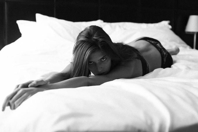 Российская модель Даша Малыгина снялась для журнала Purple. Изображение № 6.