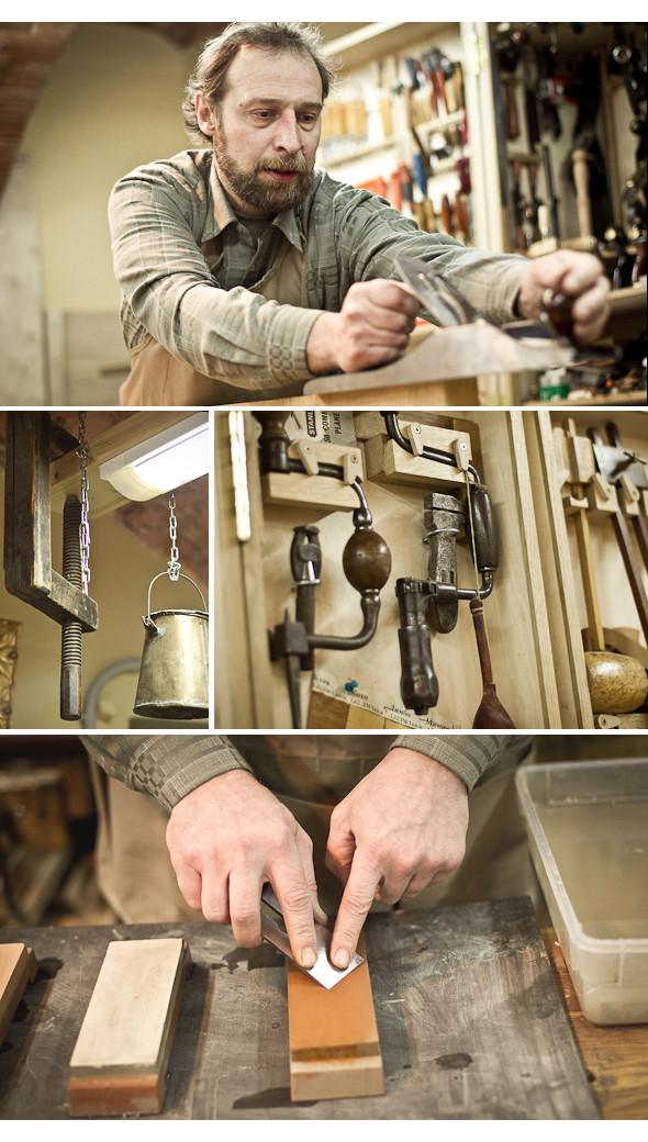 Изображение 13. Мужчины за работой: реставратор мебели.. Изображение № 4.