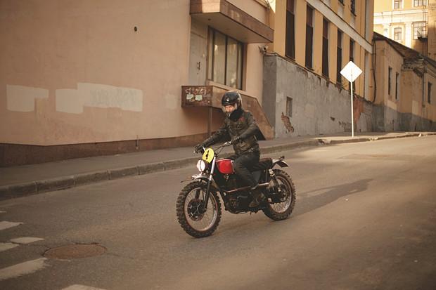 Репортаж со съемок тест-драйва мотоцикла Kawarna. Изображение № 6.