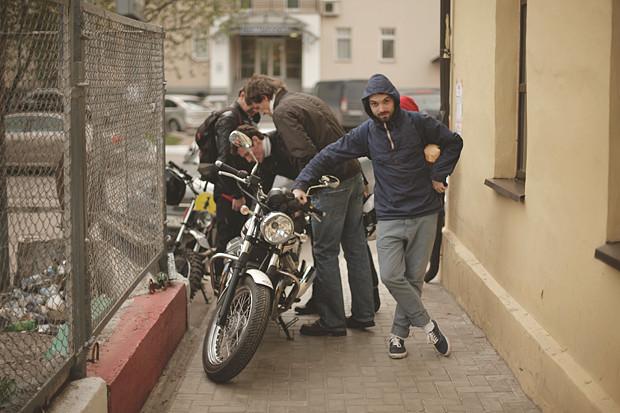 Репортаж со съемок тест-драйва мотоцикла Kawarna. Изображение № 7.