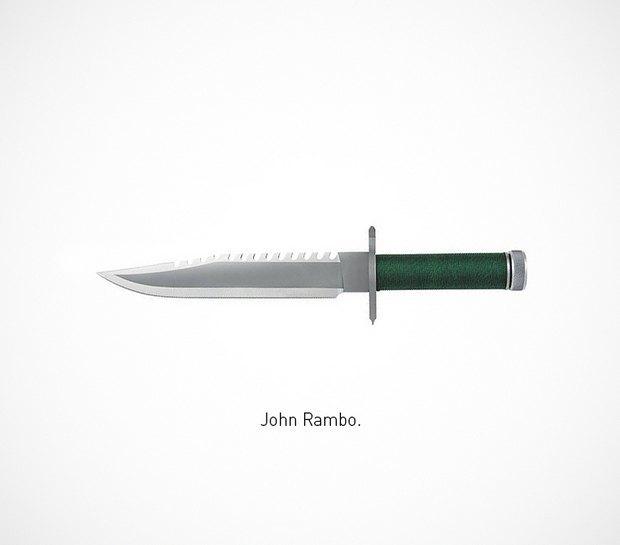 Итальянский дизайнер представил коллекцию ножей знаменитых персонажей. Изображение № 1.
