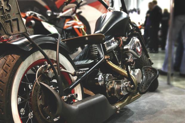 Лучшие кастомные мотоциклы выставки «Мотопарк 2012». Изображение № 1.