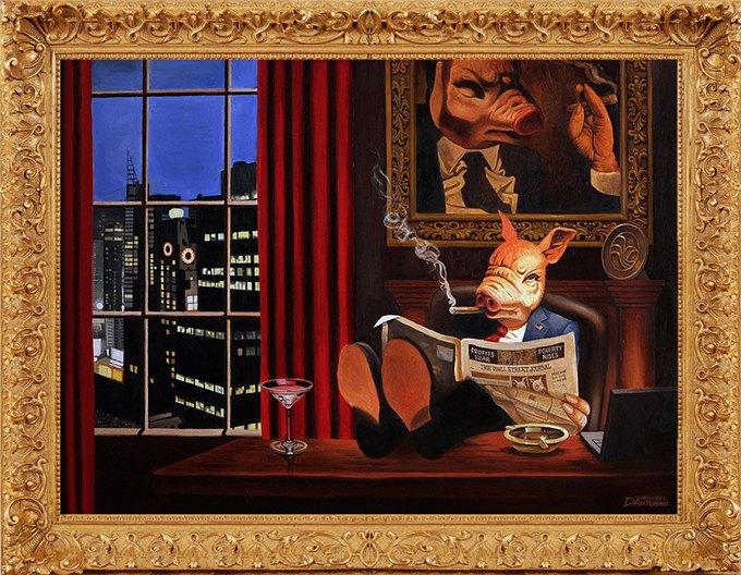 Майкл Д'Антуоно: Социальный поп-арт в работах американского художника. Изображение № 5.