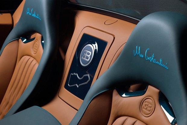 Bugatti представили новый суперкар, созданный в честь гонщика Meo Костантини. Изображение № 8.