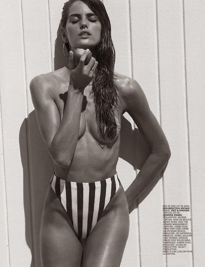 Бразильская супермодель Изабель Гулар сфотографировалась для эротического журнала Lui Magazine. Изображение № 2.