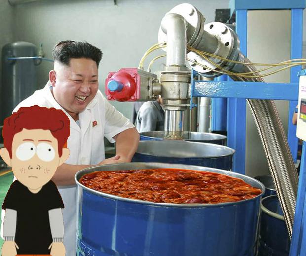 Поход Ким Чен Ына на завод смазок стал новым интернет-мемом . Изображение № 7.