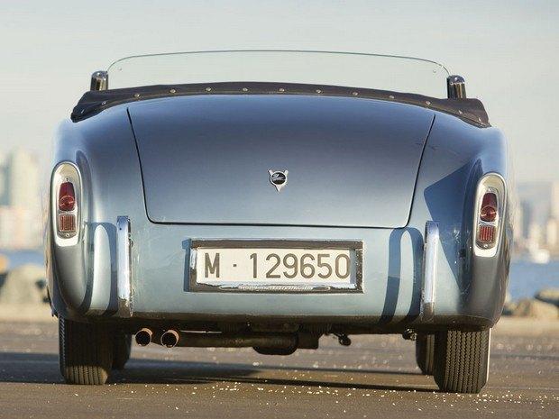 Редкий испанский спорткар Pegaso Z-102 1954 года выставлен на аукцион. Изображение № 5.