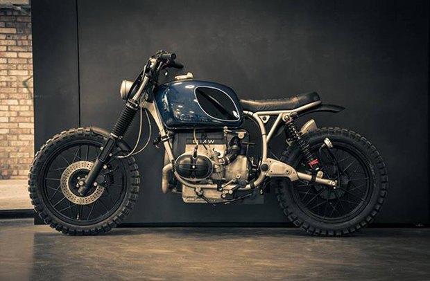 Мотомастерская ER motorcycles представилановый кастом на базе BMW R60/7. Изображение № 1.