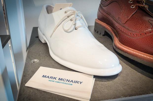 Единственная новая идея будущей коллекции Mark McNairy New Amsterdam — обувь из фарфора.. Изображение № 74.