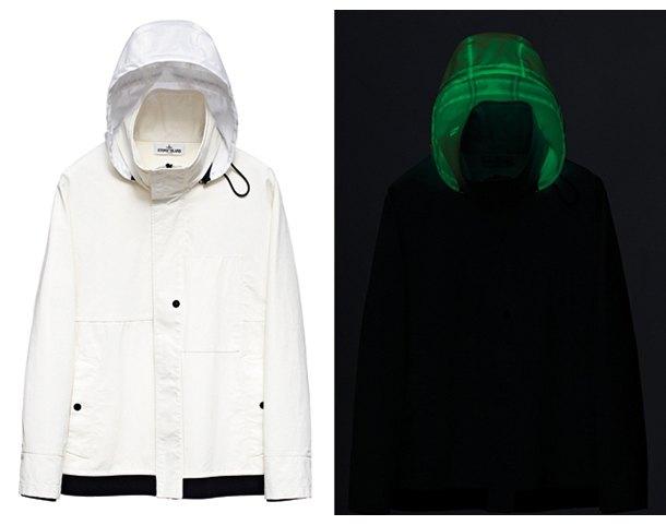 Марка Stone Island выпустила новую коллекцию одежды, светящейся в темноте. Изображение № 2.