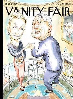 Сенатор МакКейн отбивает fist bump своей жене на обложке Vanity Fair. Изображение № 4.