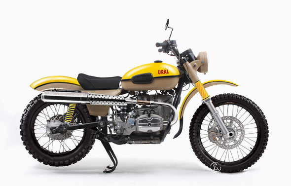 Motorcycle Club: современная мода на ретро-байки. Изображение № 18.