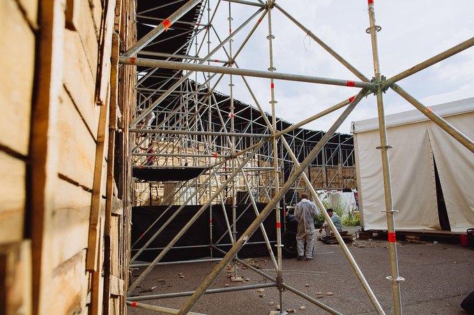 Фоторепортаж: Строительство объектов фестиваля Outline. Изображение № 44.