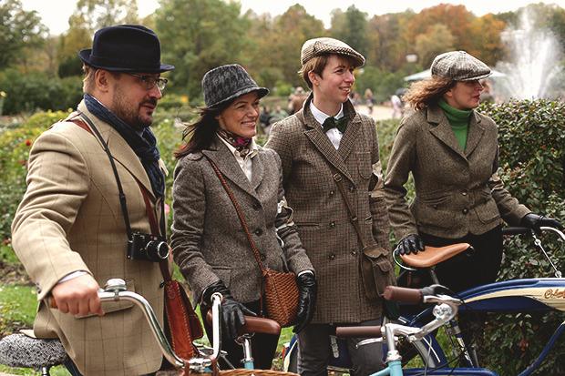 Детали: Репортаж с велозаезда Tweed Ride Moscow. Изображение № 83.