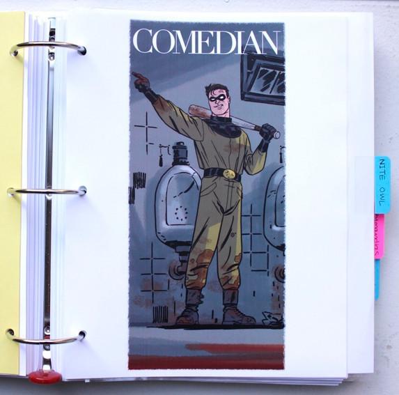 В сети появились иллюстрации приквела комикса «Хранители». Изображение № 1.