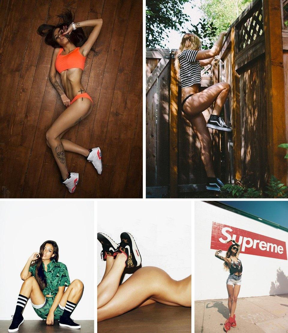 Sneaker porn: 10 Tumblr-блогов с красивыми девушками в кроссовках. Изображение № 1.