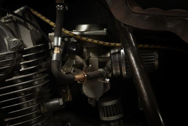 Испанская мастерская El Solitario изготовила мотоцикл Winning Loser. Изображение № 15.