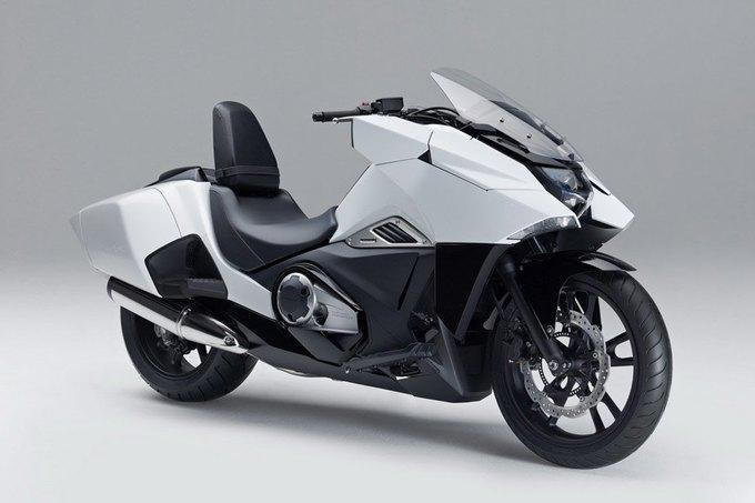 Honda представила два футуристических мотоцикла . Изображение № 1.
