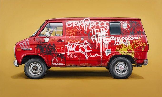 Кевин Сир: Граффити на фургонах как символ города. Изображение № 4.